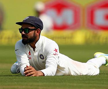 Virat Kohli Caught On Camera During Ball Tampering