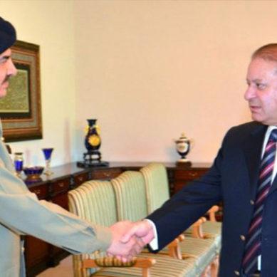 Nawaz Warns Pakistan Army
