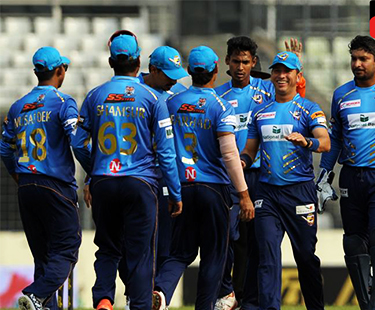 BPL: Rajshahi Kings Beat Rangpur Riders