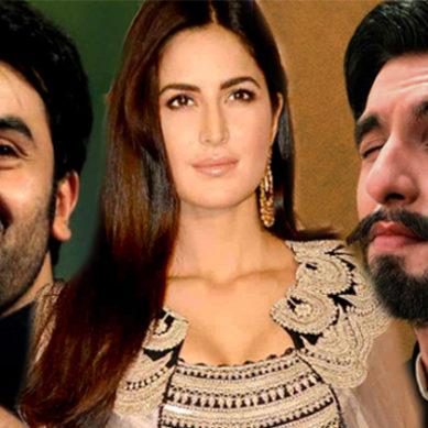 Ranbir Kapoor And Ranveer Singh Makes Fun Of Katrina Kaif
