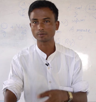 Rohingya Muslims In Myanmar Learn English