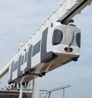 China's Battery-Powered Sky Train