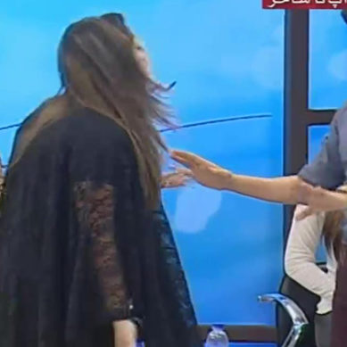 Worst Ever Fight In Sahir Lodhi Show