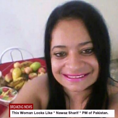 A Girl That Resembles Nawaz Sahrif