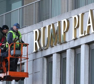 Trump's Name Removed From 3 Luxury Apartments Building