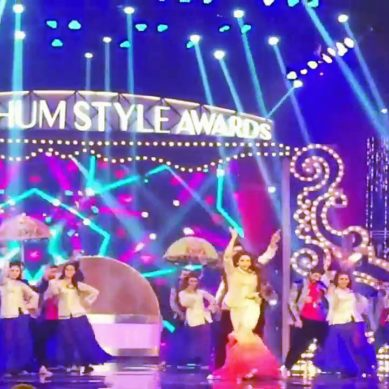 Hum Awards: Saba Qamar's Wardrobe Malfunction