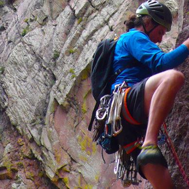 Horrific Cliff Fall