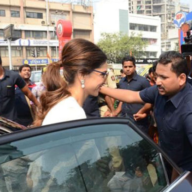Deepika Padukone Gets Tight Security