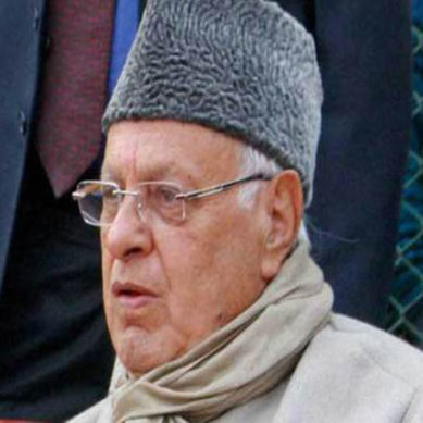 Kashmir Is Not India's Property: Farooq Abdullah