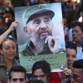 World Leaders Pay Last Respects To Fidel Castro