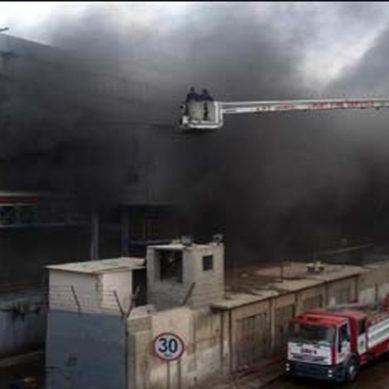 Karachi: Factory Catches Fire