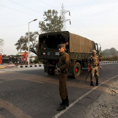 Two Indian soldiers killed in attack on army base