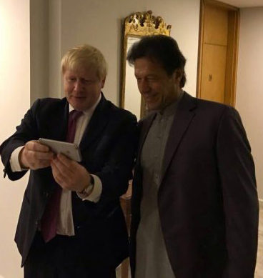 UK's Foreign Secretary Takes Selfies With Imran