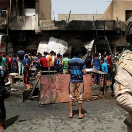 Iraq: Car Bomb Kills Dozens