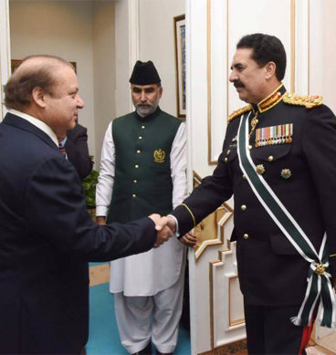 PM Hosts Farewell For COAS