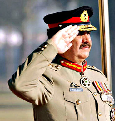Gen Raheel Warns India In His Last Speech