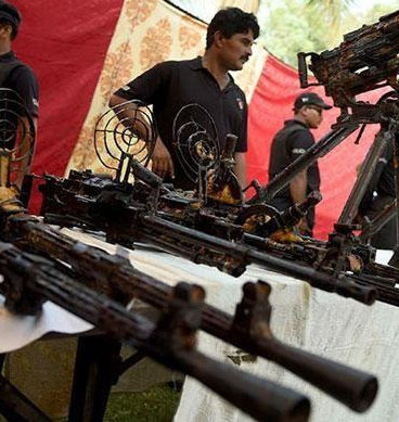 Azizabad Weapon Recovery Case:  Probe Asked To Be Suspended