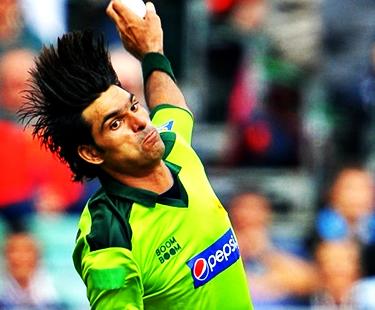 Irfan Takes Wicket Of Ahmed Shehzad In Quaid-e-Azam Trophy