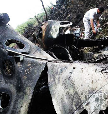 Eyewitnesses Of Air Plane Crash