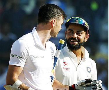 Exchange Of Words Between Anderson And Kohli