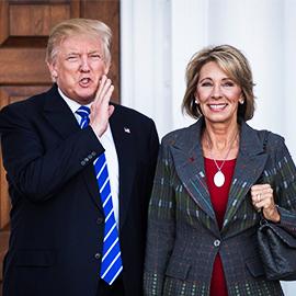 Who Is Trump's Education Secretary Pick?
