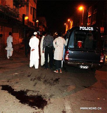 Coast Guard Dies By Firing In Orangi Zaman Town