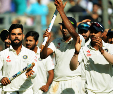 India Beat England In 5th Test
