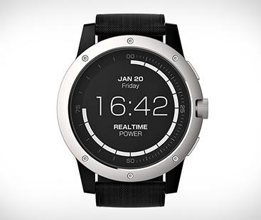 Matrix Power Watch Runs On Your Body Heat