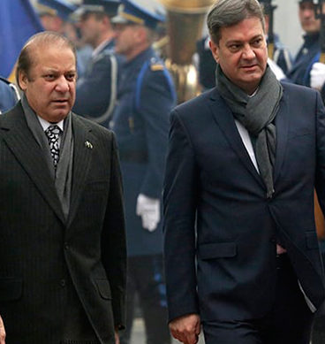 PM Nawaz Addresses Joint Press Conference In Bosnia