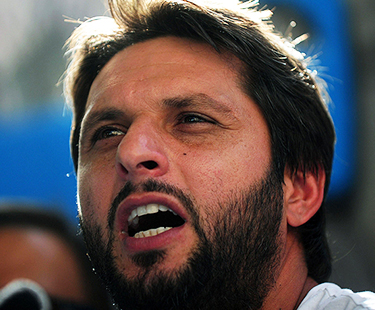 Shahid Afridi reveals what will he do first if becomes prime minister