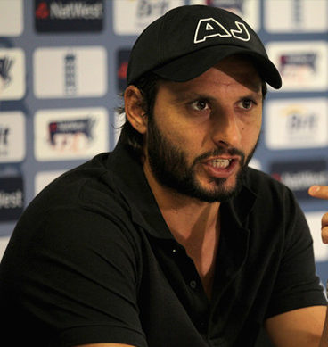 Shahid Afridi Media Talks: Peshawar