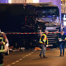 At Least 12 Dead In Berlin After Truck Crashes Into Christmas Market