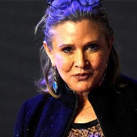 "Carrie Fisher, 'Star Wars"" Princess Leia, Dies At 60"
