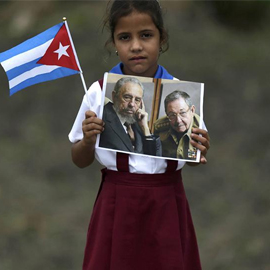 Cuban Tributes Stretch Across The Island: Castro's Funeral