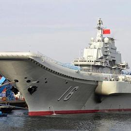 China's 1st Aircraft Carrier Sails Into South China Sea