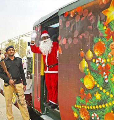 Christmas Peace Train Begins Journey: Islamabad