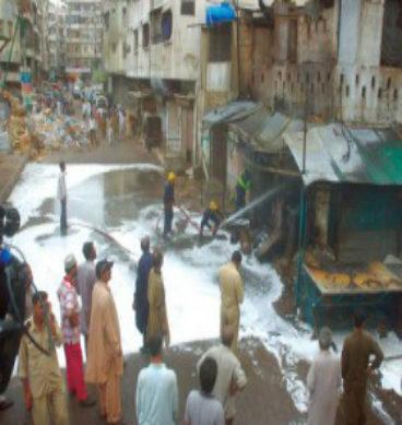 5 Injured In Defence As Cylinder Explodes: Karachi
