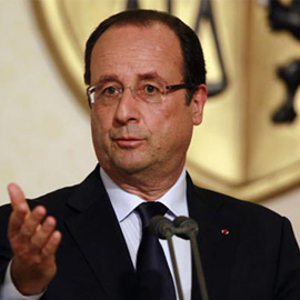 France's Hollande Says He Won't Seek Re-election