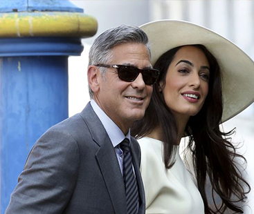 George Clooney And Amal Alamuddin Welcome Their First Twins