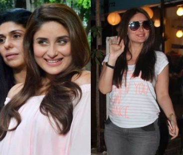 Kareena Kapoor Takes Some Refreshment Time With Amrita Arora