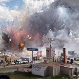Mexico Fireworks Market Explosion Kills 27