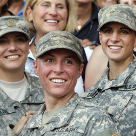 Obama Supports Women Registering In The Military Draft