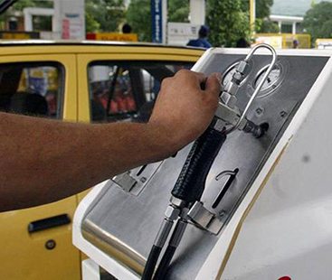 Petrol prices inch up in moderation with effect from 12th June
