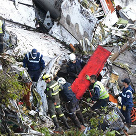 'Human Error' Led To Colombian Plane Crash That Killed 71