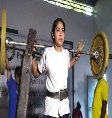 Women Power Lifting Championship: Lahore