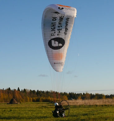 'Human Swan' Flew 4,500 Miles