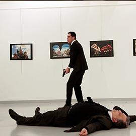 Russian Ambassador To Turkey Is Assassinated In Ankara