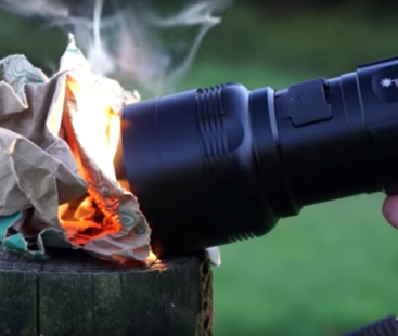 Flashlight Can Start Fire & Cook Eggs