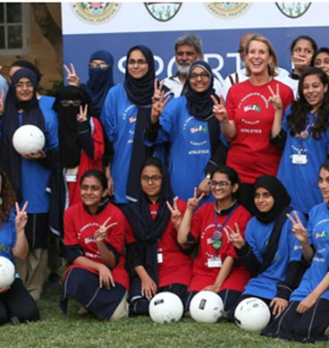 Girls Volleyball Tournament Starts In Lahore
