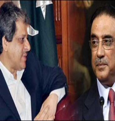 A Rapid Fire Of Words Between Zardari & Ishrat-Ul-Ibad